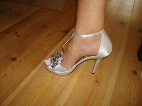 4a5476f222 Spoločenské sandále - strieborné
