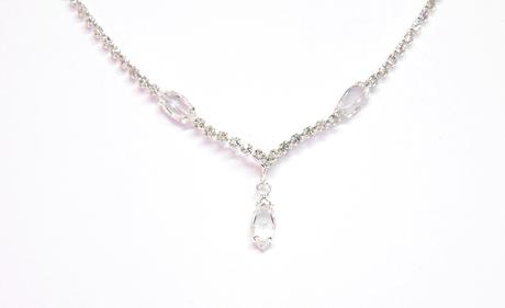 Jemný svatební náhrdelník,