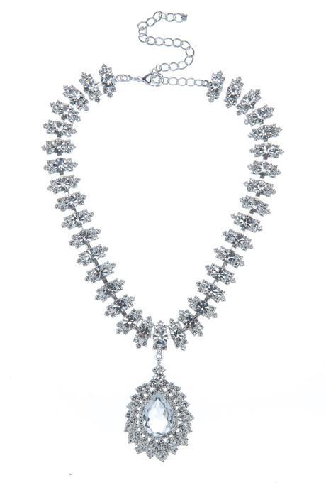 Svatební náhrdelník s hruškou,