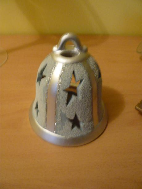 Svietnik keramický-zvonček,