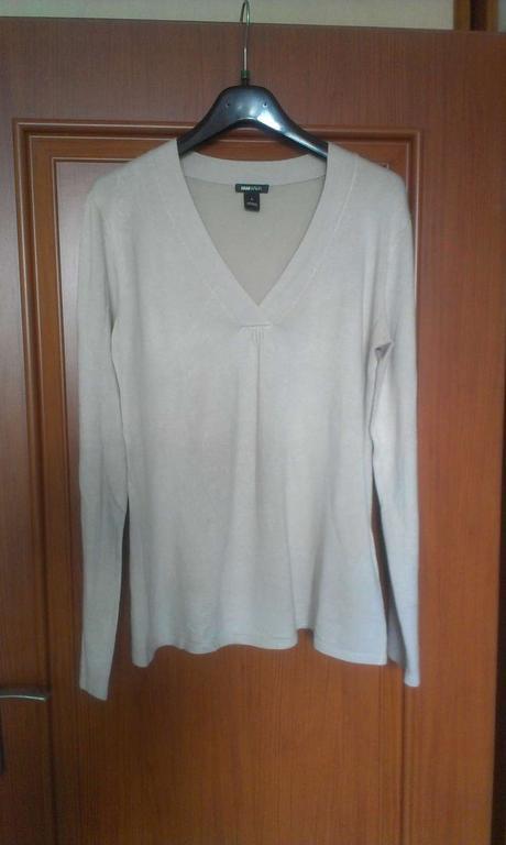bezovy pulovrik L,znacka H&Mama (pre tehulky), L