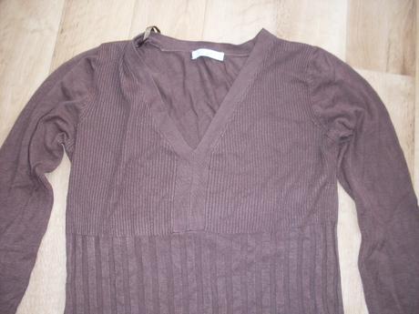 dlhy pulover s Veckom L/XL, L