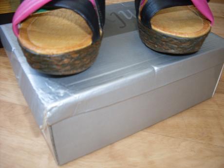 farebne sandalky c.41, 41
