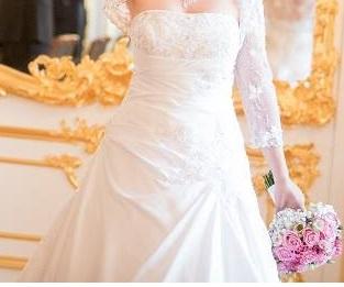 Luxusné svadobné šaty EddyK Milano  model 1333, 36