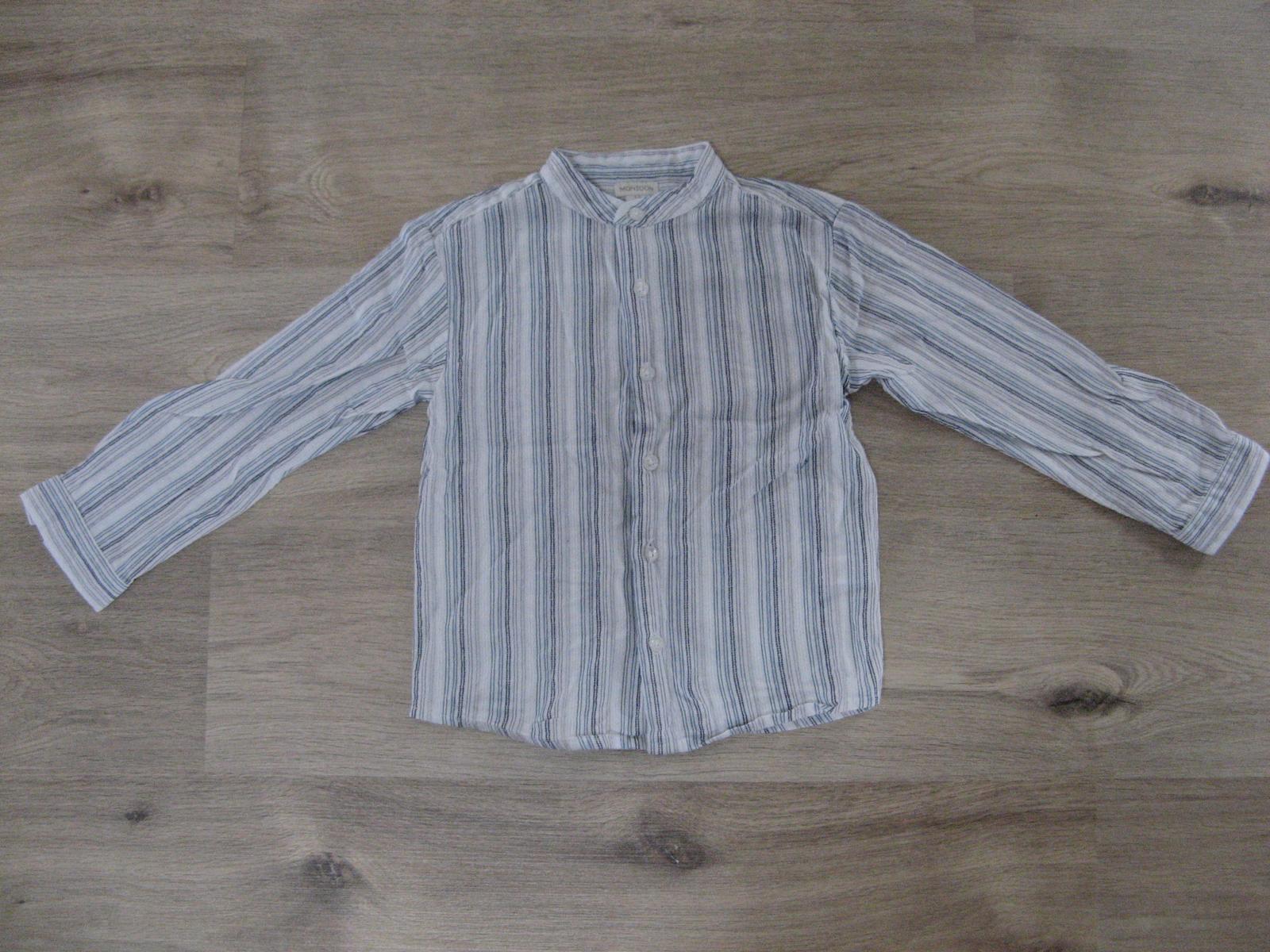 8e69ba154d3 Pruhovaná košile se stojáčkem