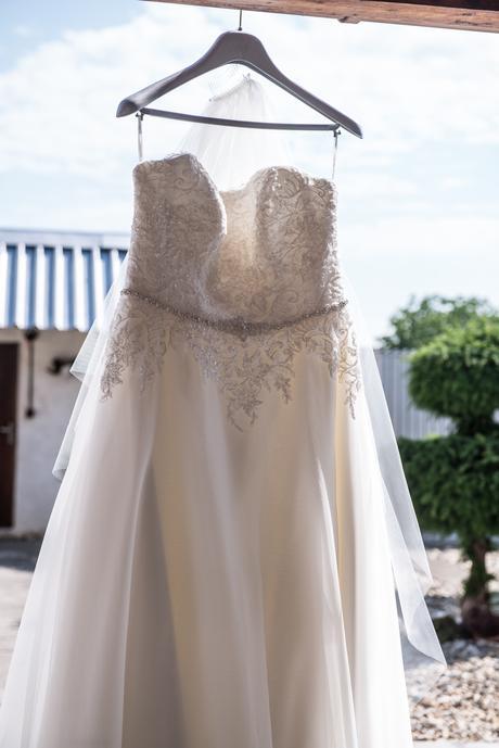 Svadobné šaty Agnes, 44