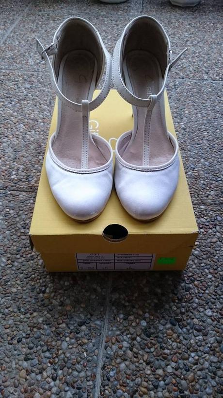 Svadobné topánky (lodičky), 40