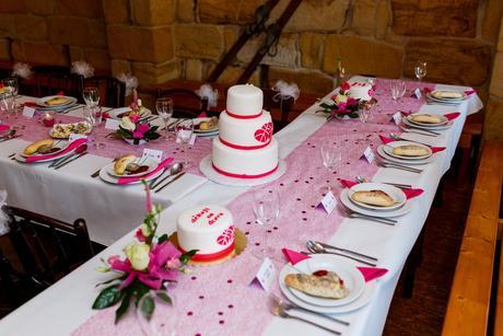 Dekorační kytičky (např. na svatební tabuli),