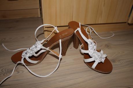 Biele sandále, 41