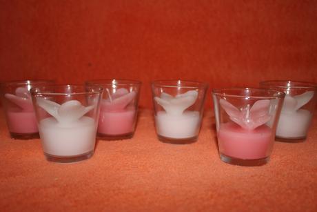 Dekoračné sviečky Motýľ,