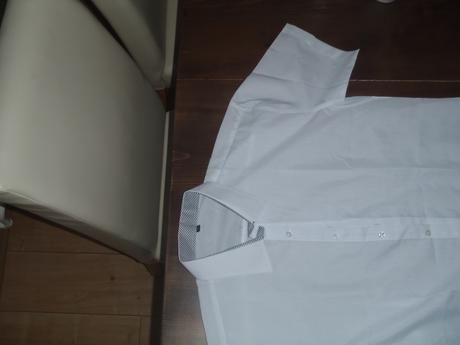 Pánska košeľa veľ. M biela - nepoužitá, L