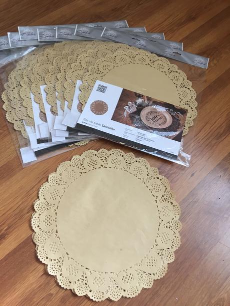 Papierové podnosy pod torty, taniere a pod ,