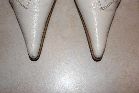 Raz obuté kožené lodičky, 36