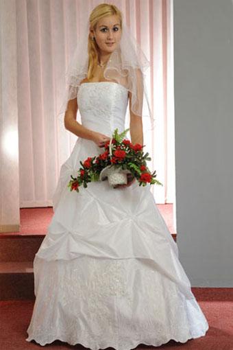 Svatební šaty -slonová kost, 40