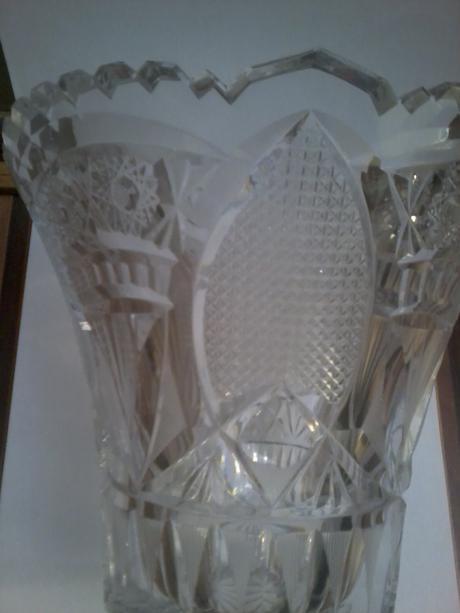 Krištáľová váza,