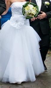 Korzetové svadobné šaty veľkosť 36-40, 38