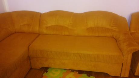 sedacia suprava gauč plus fotelka,