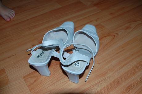 Svadobne / spolocenske sandale, 38