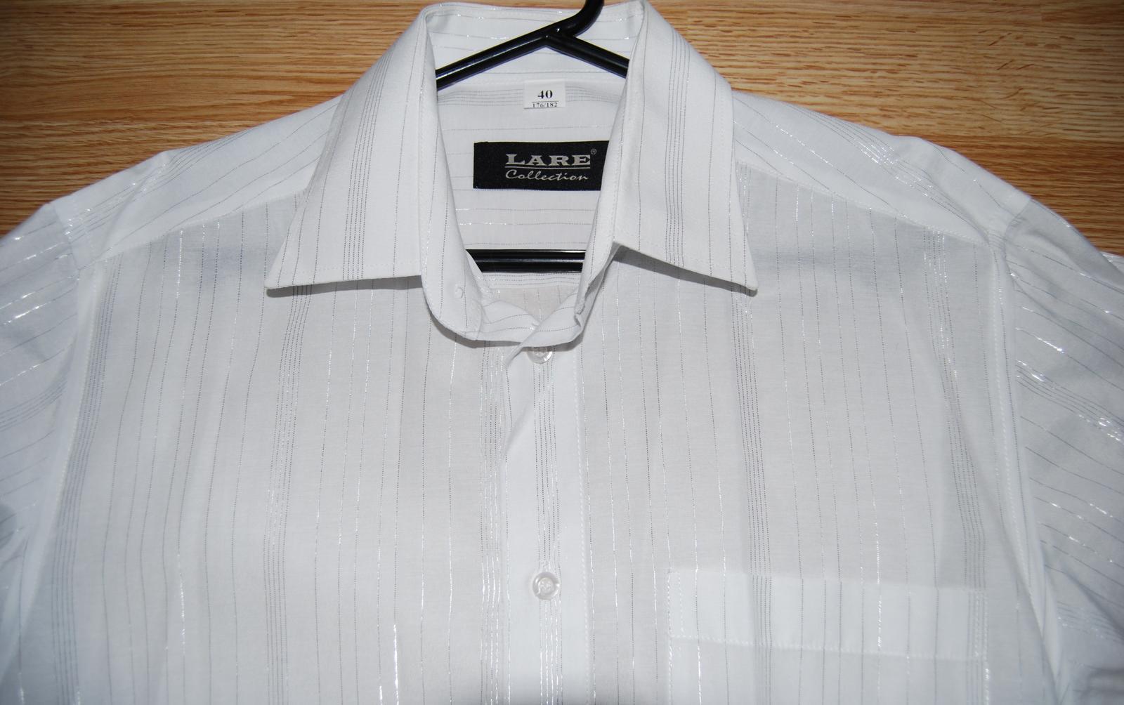 Luxusní společenská pánská košile  d63ed37c97
