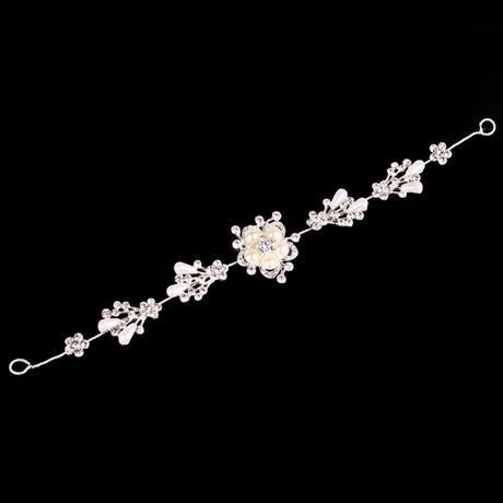 Ozdoba do vlasů crystal flower,