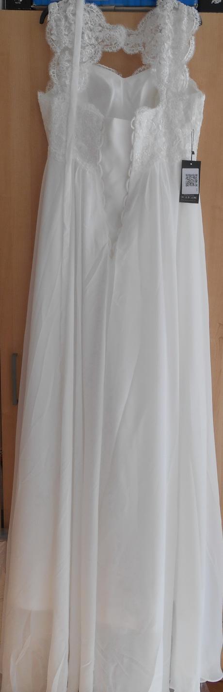 svadobné šaty na predaj, 38