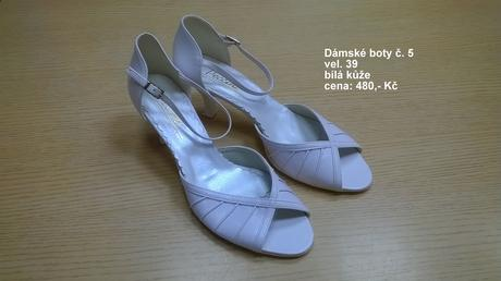Dámské svatební boty, 39
