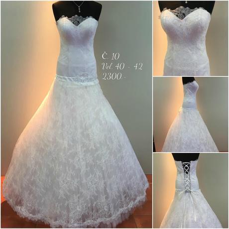 Svatební šaty č. 10, 40