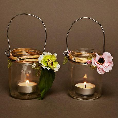 Lucerny na čajové svíčky,