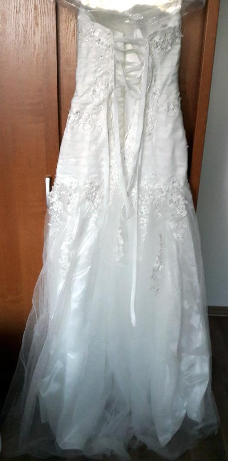 Svadobné šaty veľ. 34 - 38, 36
