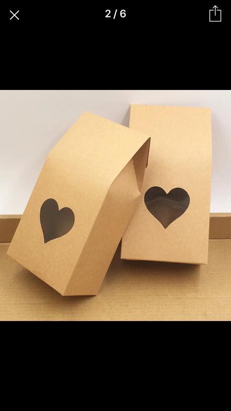 Krabička na svatební koláčky, nebo čokoládu,