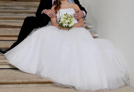svatební šaty 38-42, 40