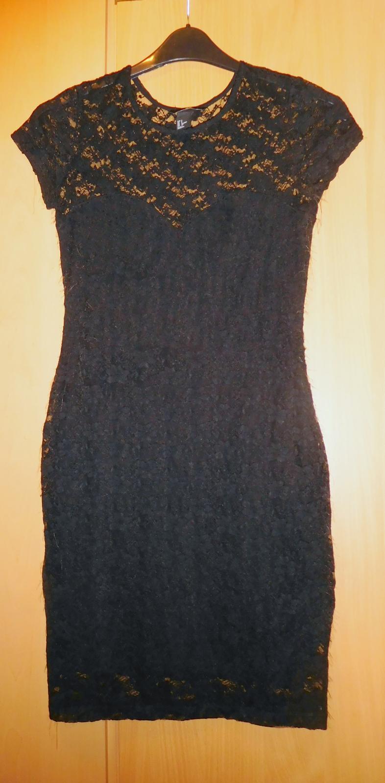 Elegantní krajkové šaty 36-h m 35a0077978