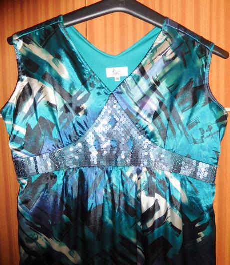 atraktivní společenské šaty 50- KLASS, 50