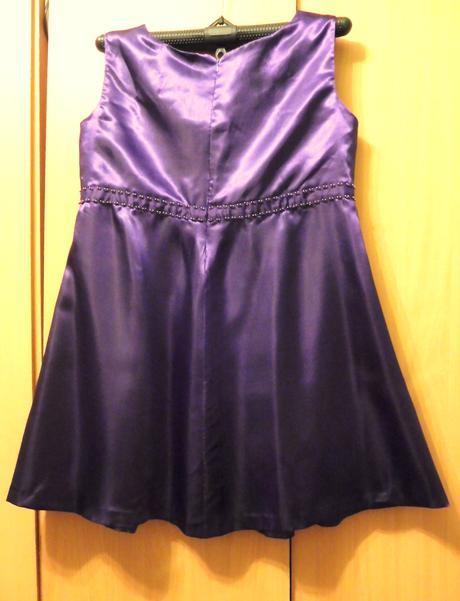 saténové společenské šaty 50, 50