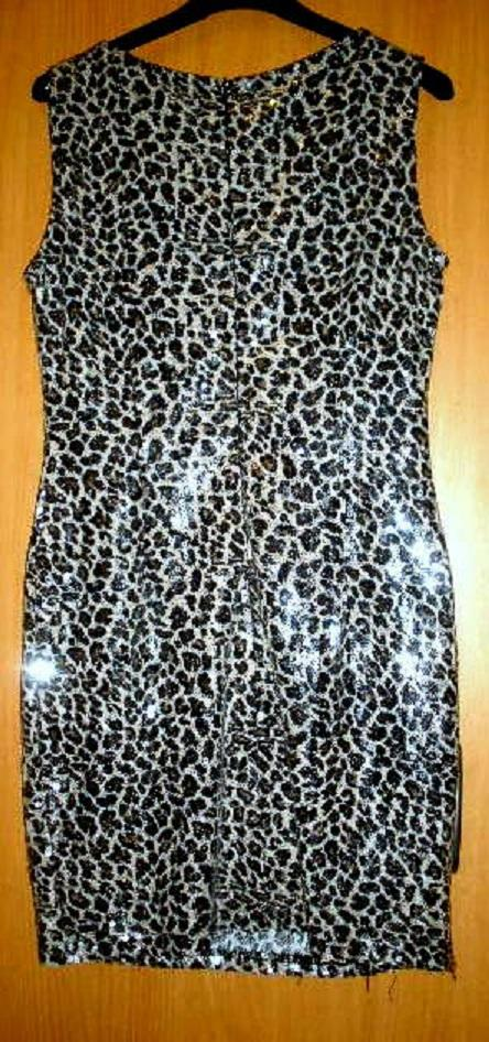 sexy flitrové šaty 38- RESERVED, 38