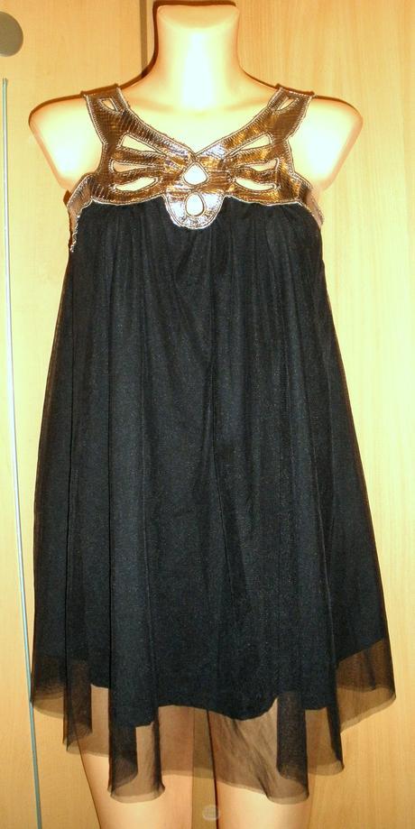 sexy šifonové  šaty 38- ZARA, 38