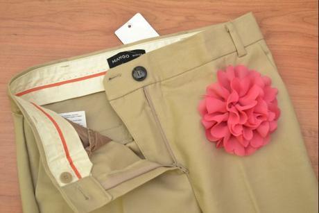 Elegantné nohavice Mango č. 34, XS