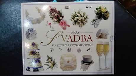 Kniha plánovanie svadby,