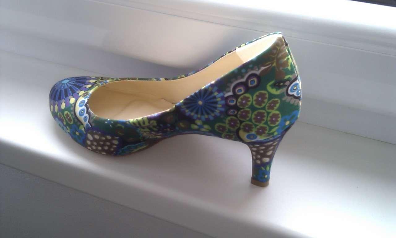 Pestré lodičky - humanic   funky shoes 9421f17854