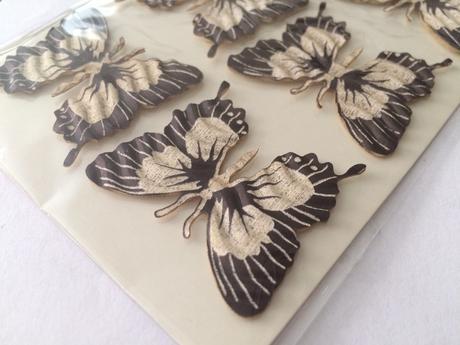 Dekorativní papíroví motýlci,