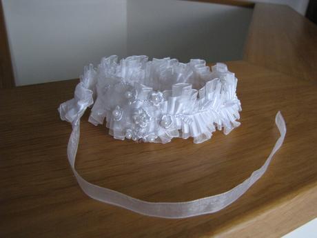 Svatební náhrdelník / obojek,