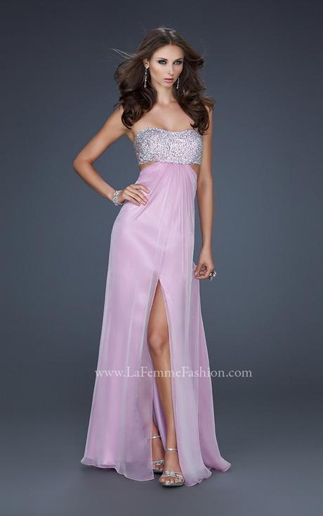 Dlhé šaty v ružovej farbe, 34