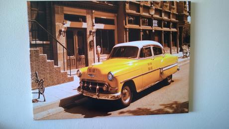 foto obraz newyorsky taxi,
