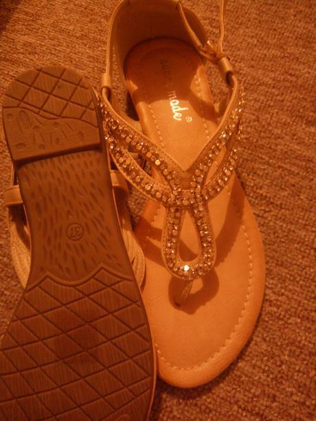 Trblietave sandalky na leto - 36, 36