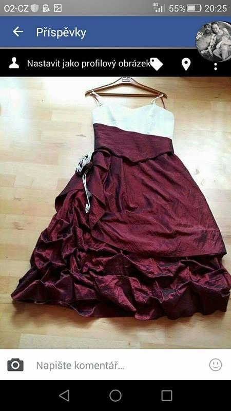 Korzetové šaty na převlečení, 38