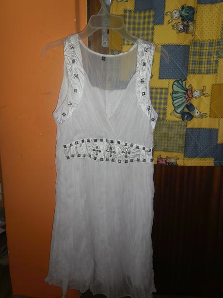 Biele šaty - M, M