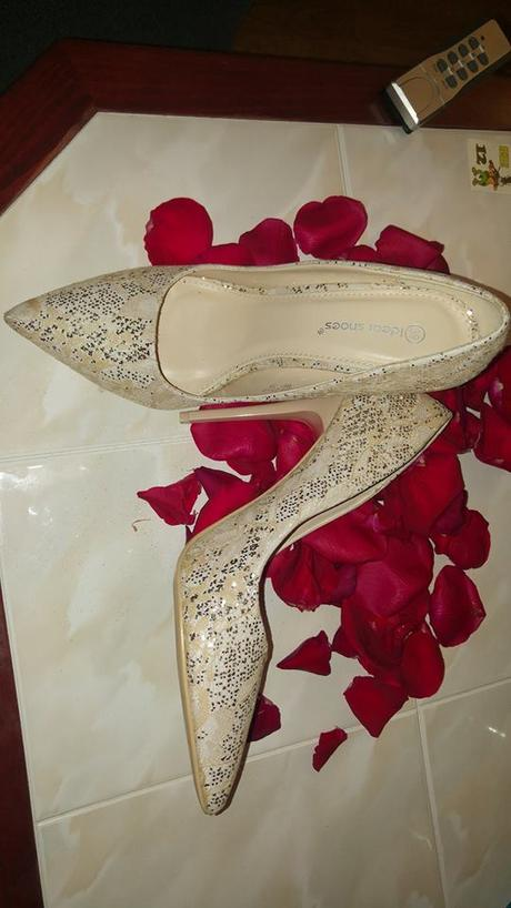 Svadobné topánočky - lodičky, 39