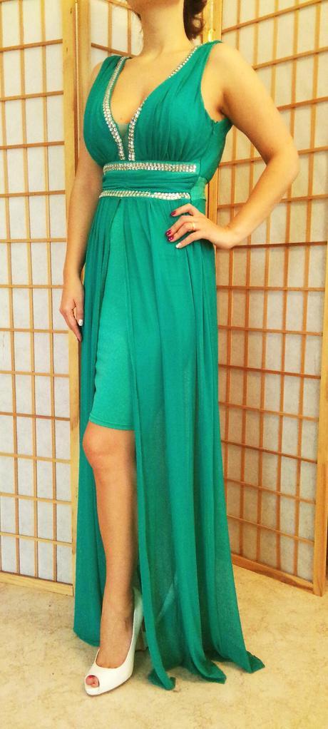 Smaragdové popolnočné, spoločenské 36, 38