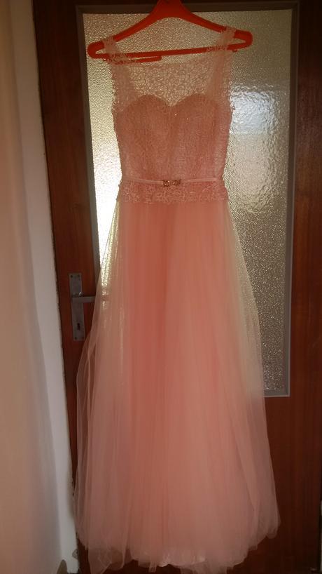 Svadobné, popolnočné, spoločenské šaty, 36