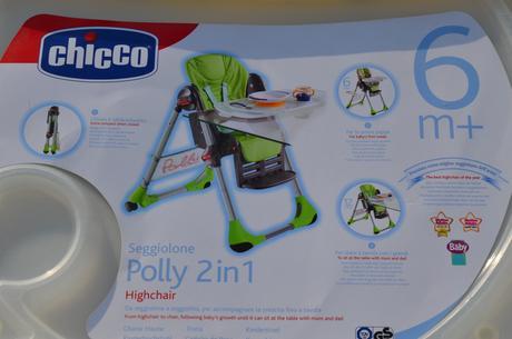 Jedalenska stolicka - Chicco Polly,